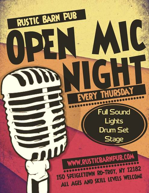 Open Mic with Brian Kane (8pm)