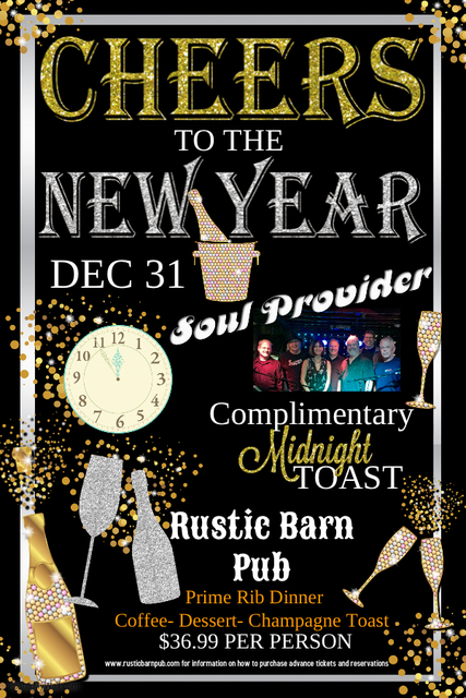 NYE Party with Soul Provider