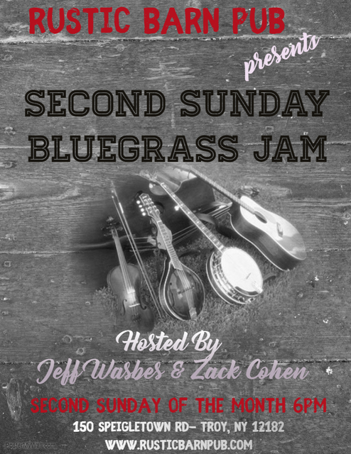 Second Sunday Bluegrass Jam