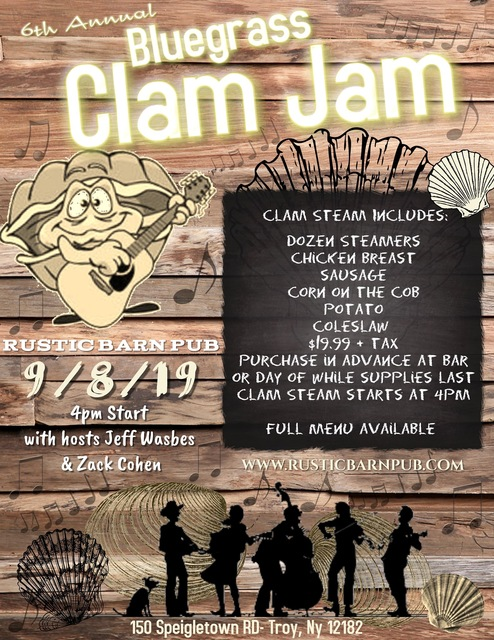 Bluegrass Clam Jam